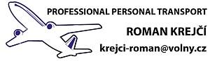 Professional personal transport – Roman Krejčí, Brno -